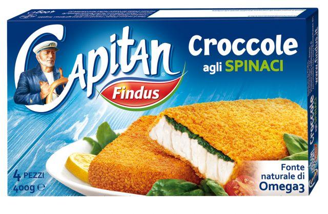 Croccole con Spinaci Findus