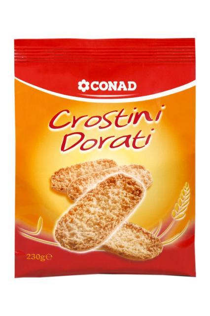 Crostini Conad