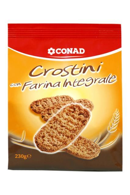 Crostini Integrali Conad