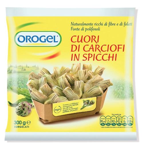 Cuori di carciofi a spicchi Orogel