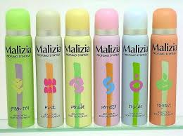 Deodorante spray donna Malizia