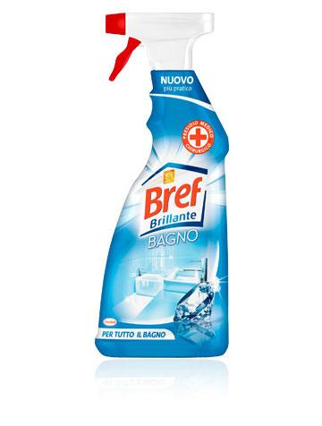 Detergente bagno spray  Bref