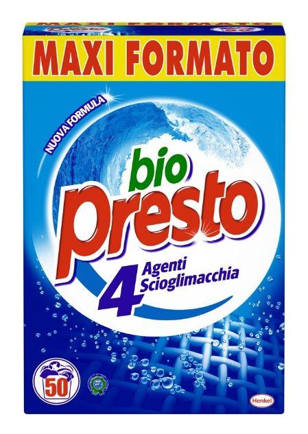Detersivo in polvere lavatrice bio presto bio presto for Quale lavatrice comprare