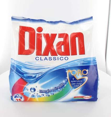 Detersivo in polvere lavatrice Dixan