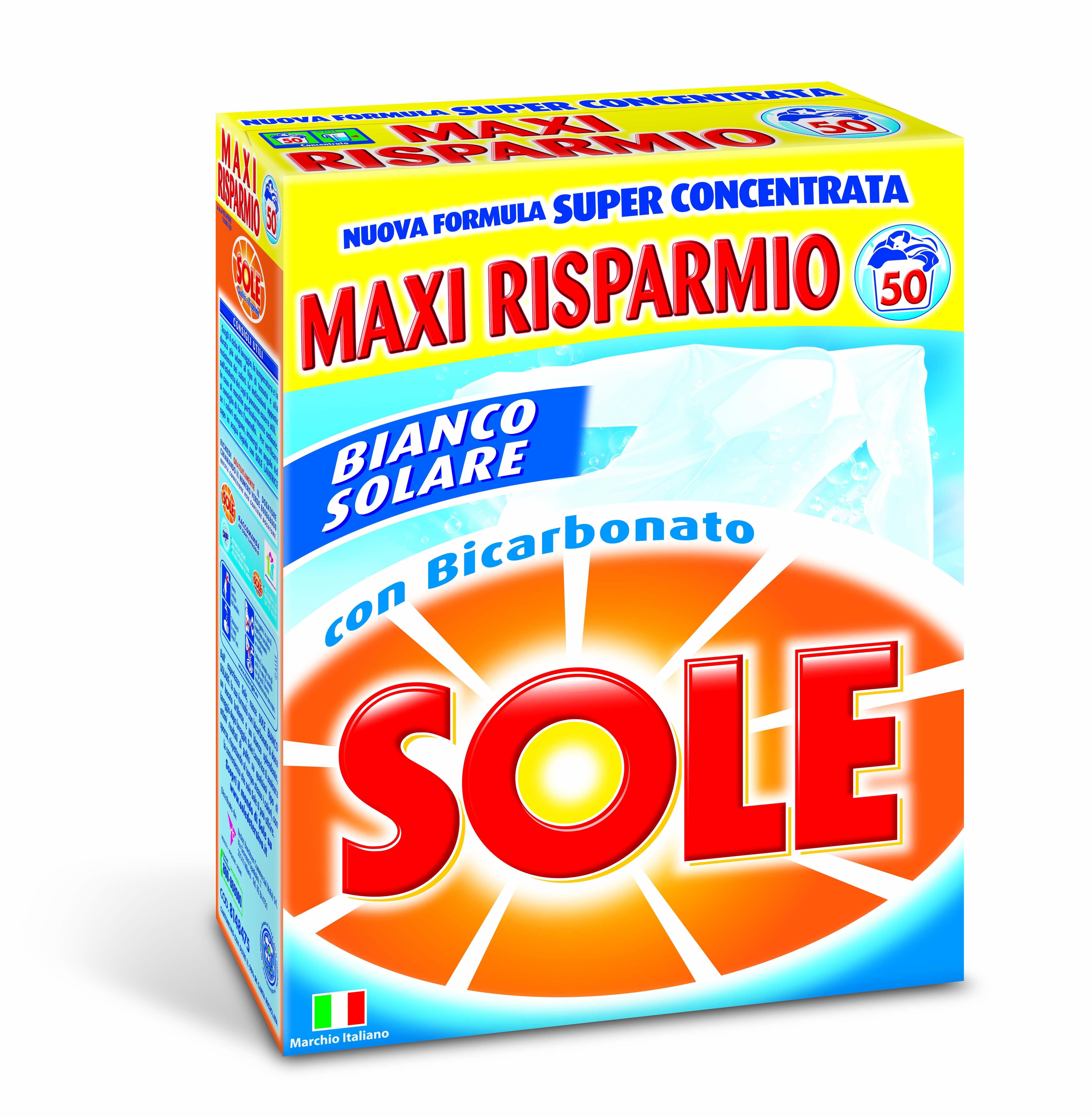 Detersivo in polvere per lavatrice sole sole offerte e for Quale lavatrice comprare