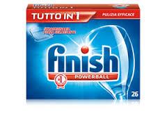 Detersivo lavastoviglie tabs Tutto in 1 Finish