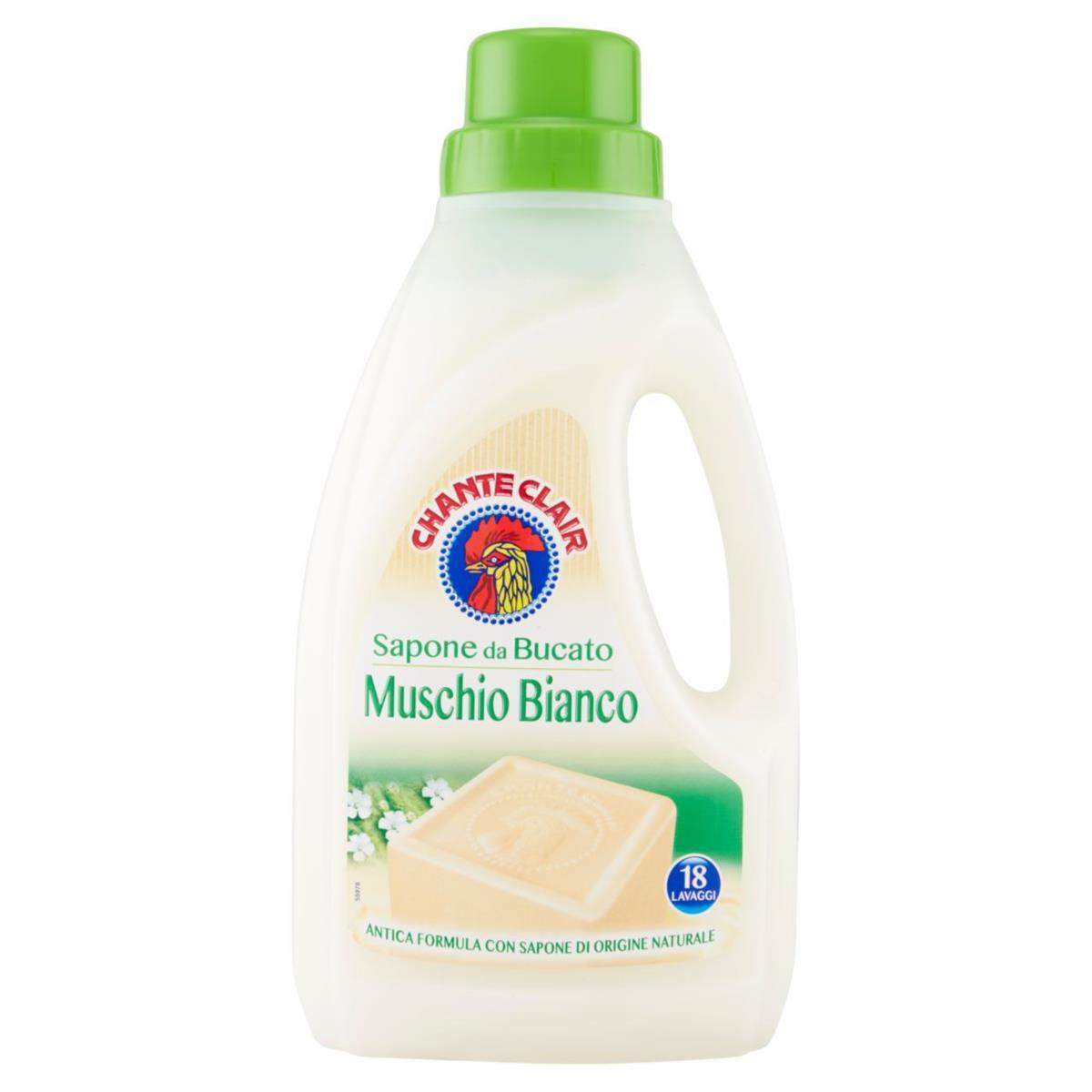 Detersivo liquido sapone da bucato muschio bianco chante for Quale lavatrice comprare
