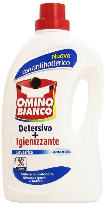 Detersivo liquido lavatrice con igienizzante omino bianco for Quale lavatrice comprare