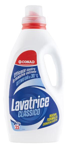 Detersivo liquido per lavatrice conad conad offerte e for Quale lavatrice comprare