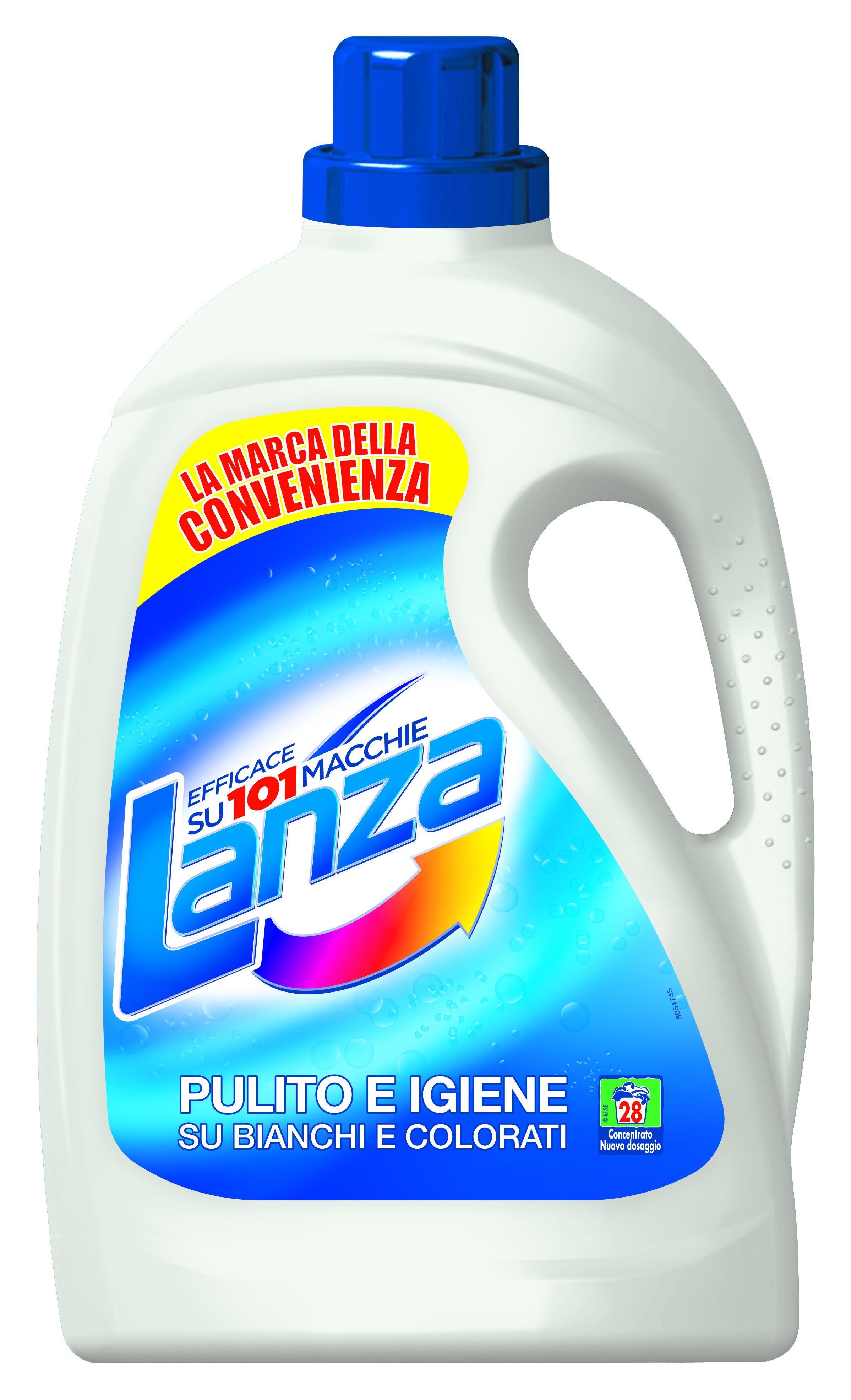 Detersivo liquido per lavatrice lanza lanza offerte e for Quale lavatrice comprare