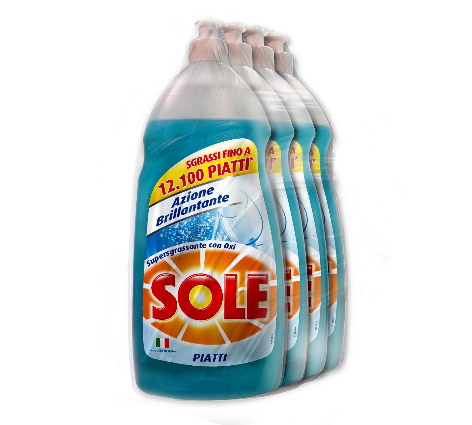 Detersivo liquido per piatti Sole