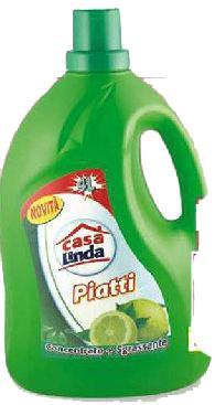 Detersivo per piatti al limone Casa Linda