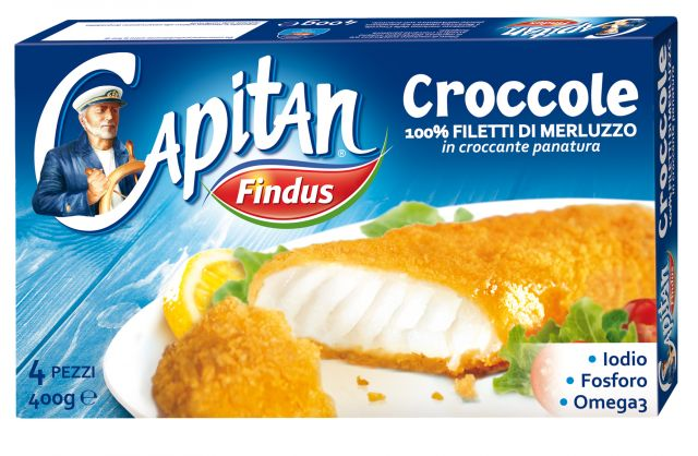 Croccole panate Findus