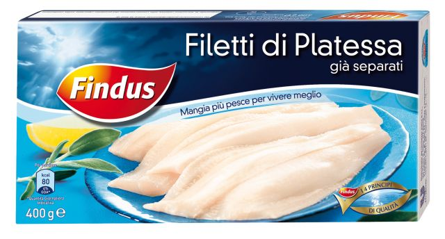 Filetti di platessa Findus
