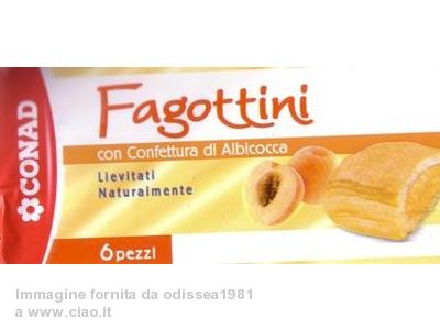 Fagottini albicocca Conad