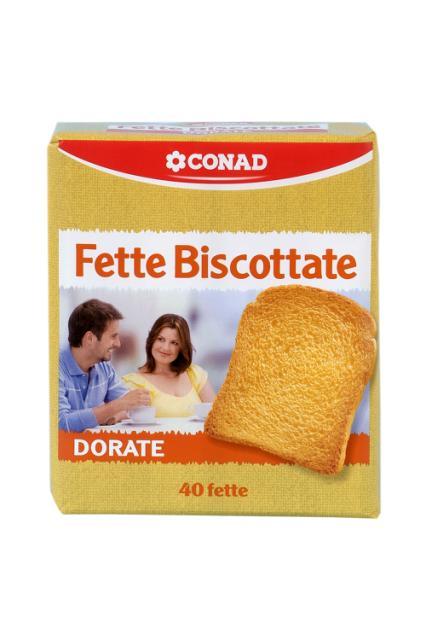 Fette biscottate Conad