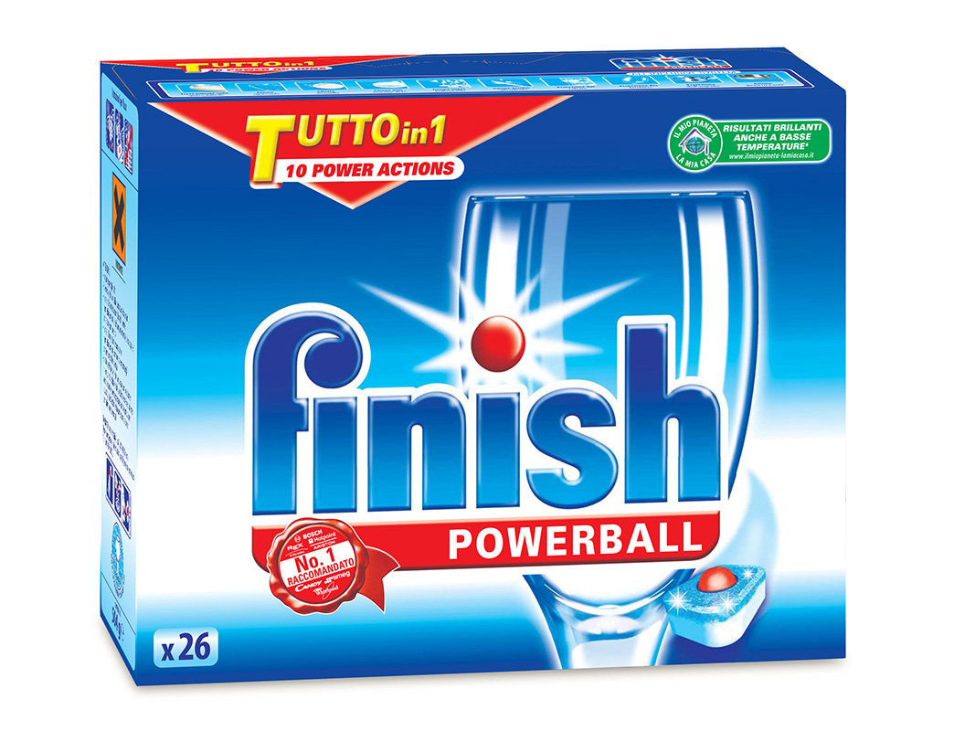 Finish Tutto in 1 PowerBall