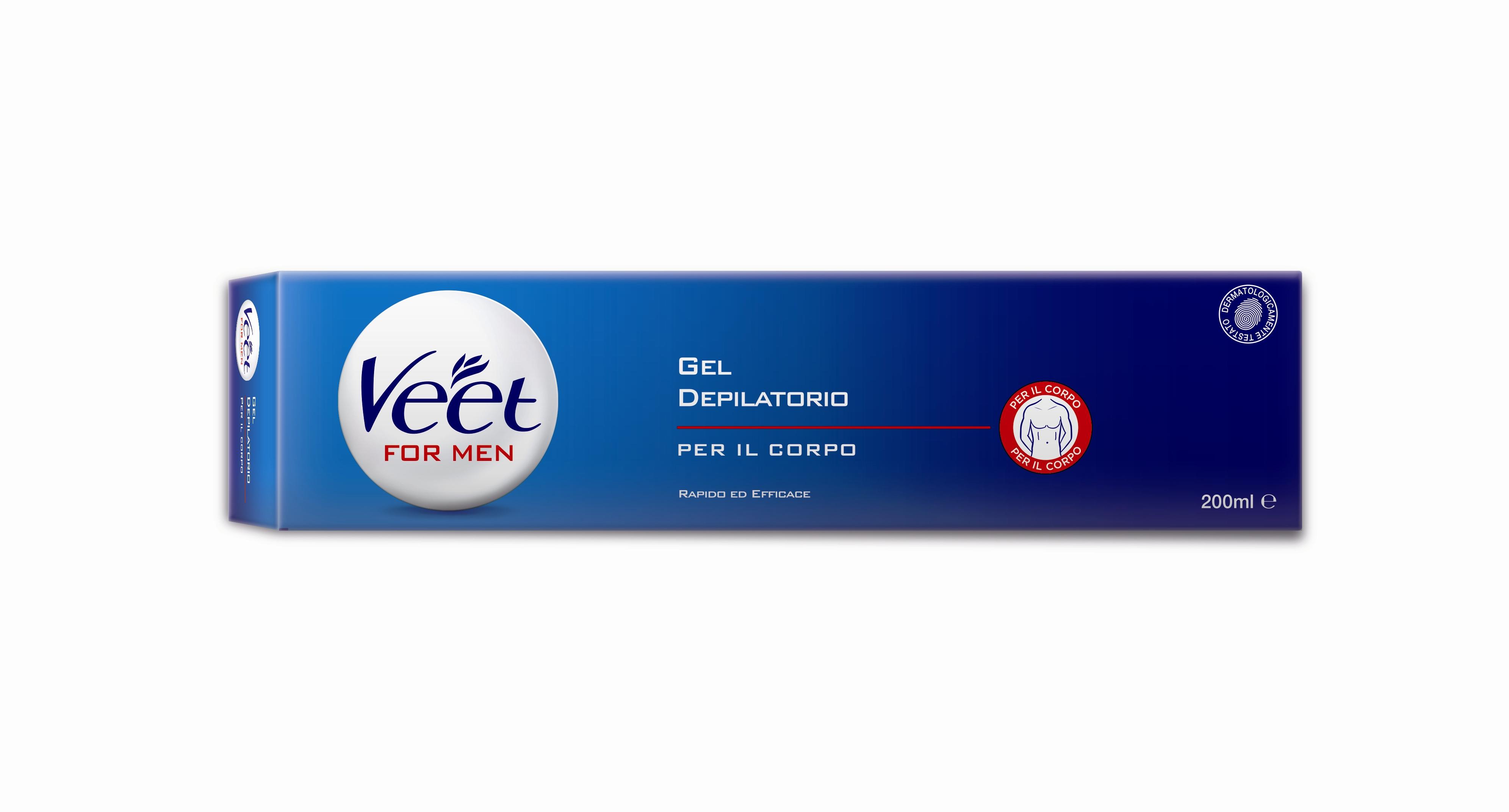 Gel depilatorio for men Veet