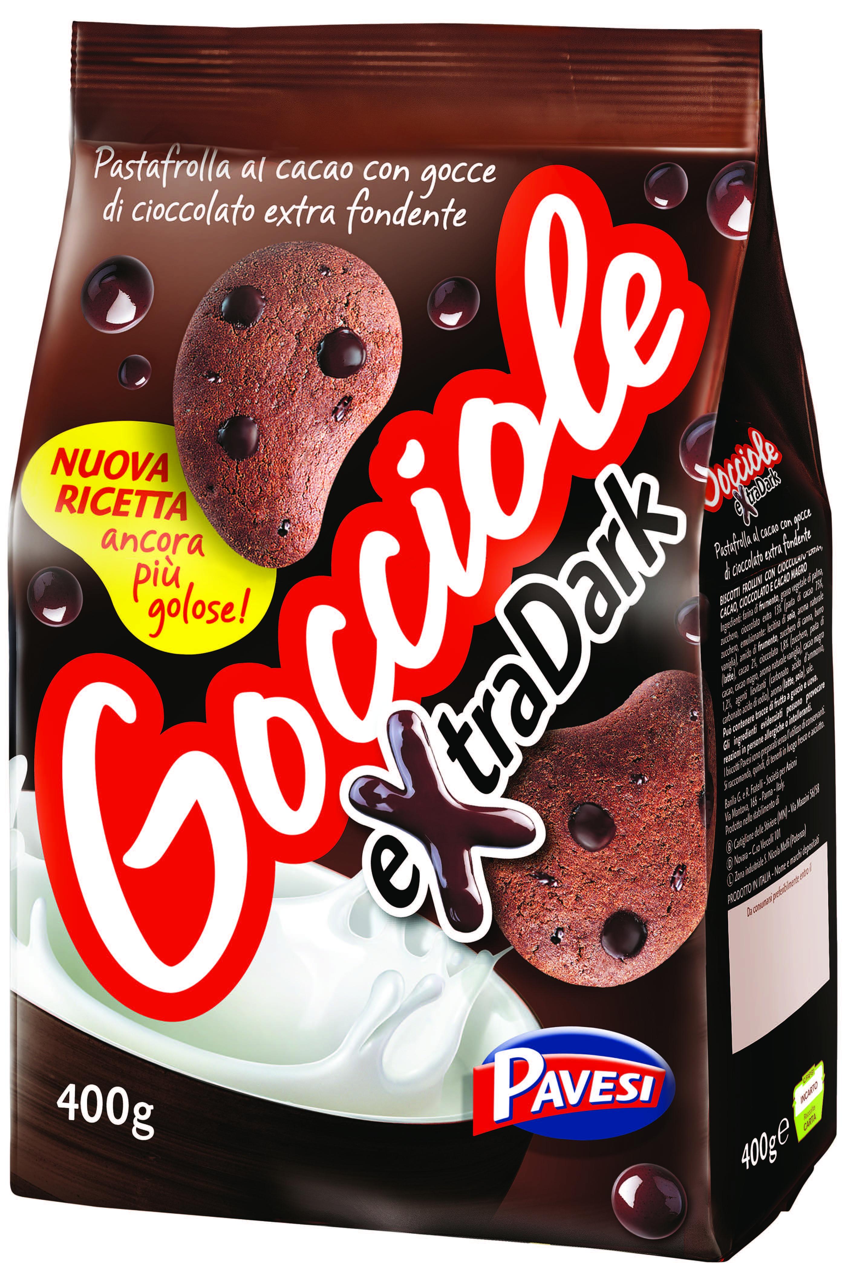 Gocciole extra dark Pavesi