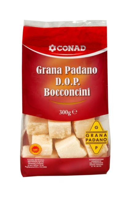 Grana Padano DOP a Cubetti Conad