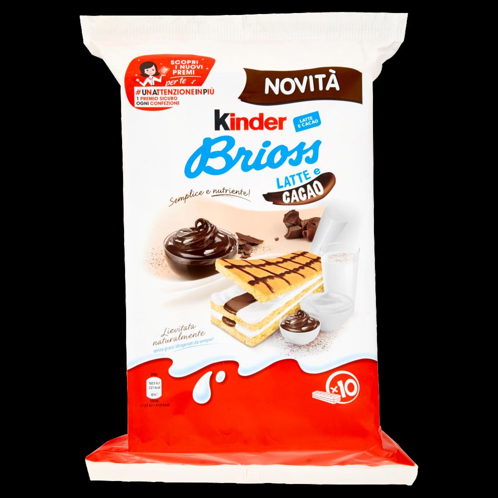 Kinder Brioss Latte E Cacao Ferrero
