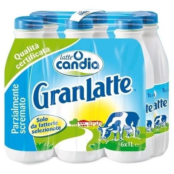 Latte UHT parzialmente scremato Candia