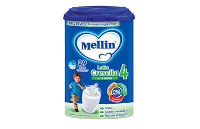 Latte in polvere Crescita 4 Mellin