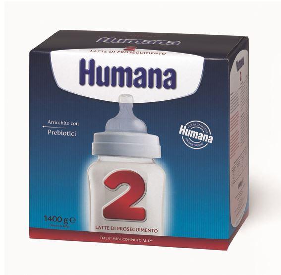 Latte in polvere Humana 2