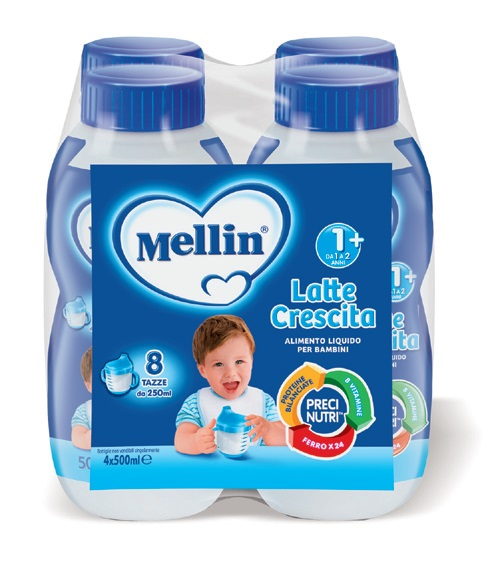 Latte liquido Crescita 1+ Mellin