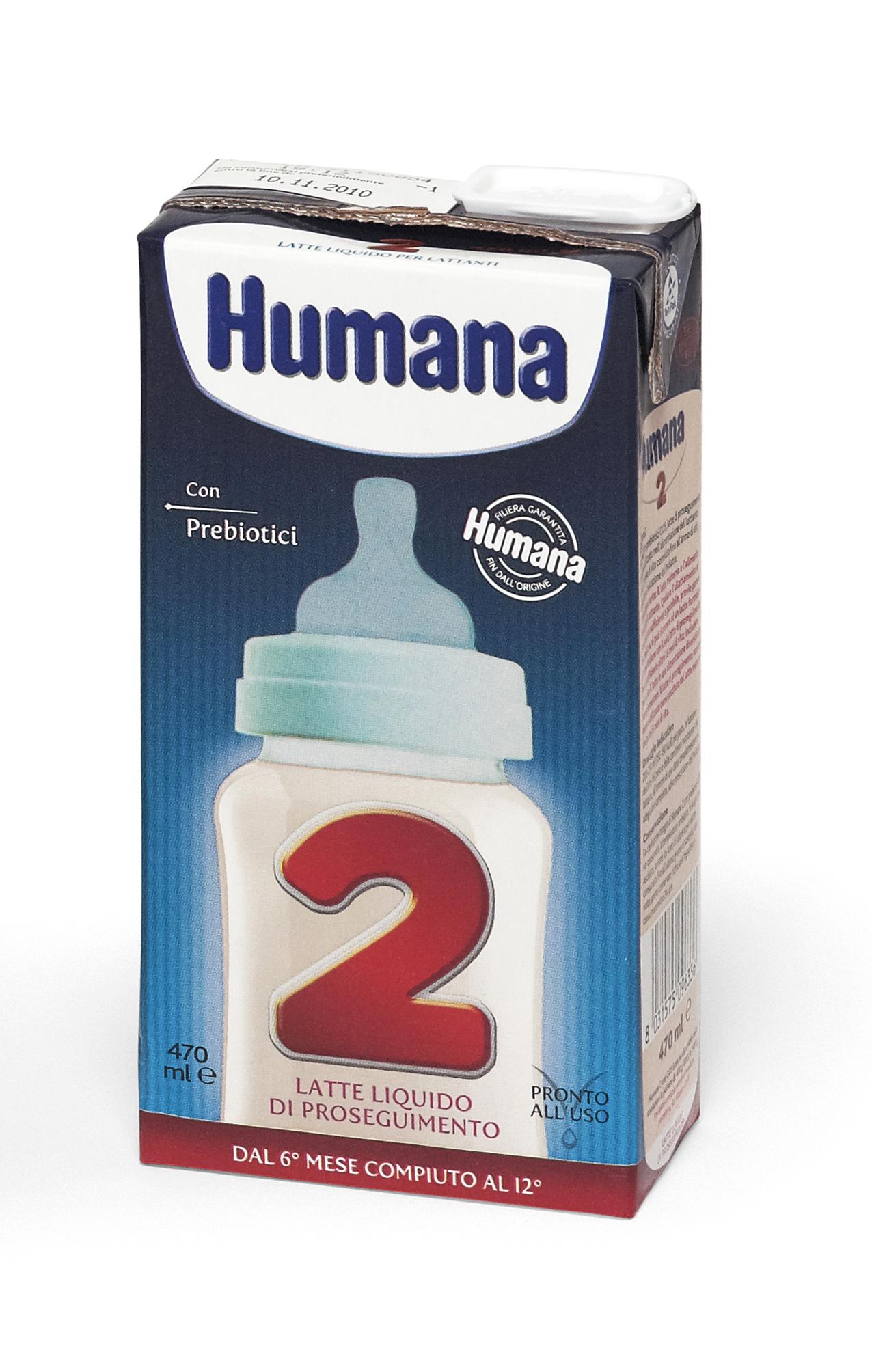 Latte liquido Humana 2