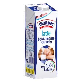 Latte microfiltrato Sterilgarda parz.scremato