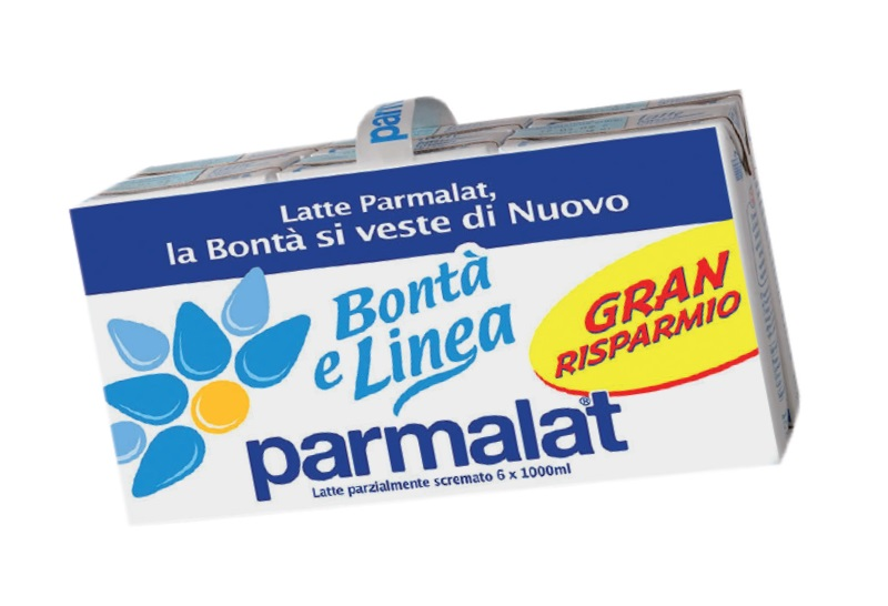 Latte parzialmente scremato Parmalat