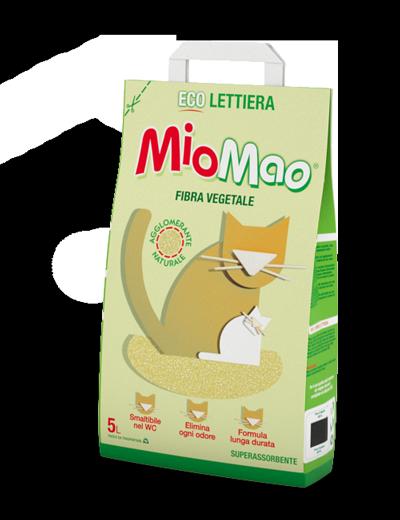 Lettiera per gatti eco fibre vegetali mio mao mio mao for Migliore lettiera per gatti