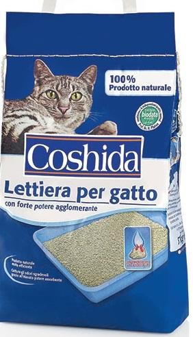 Lettiera per gatti coshida coshida offerte e for Migliore lettiera per gatti