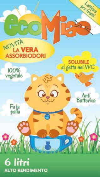 Lettiera per gatti ecomiao ecomiao offerte e for Migliore lettiera per gatti