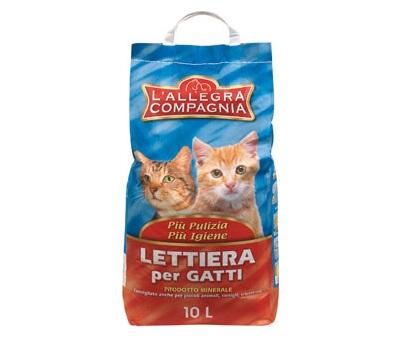 Lettiera per gatti l 39 allegra compagnia l 39 allegra for Migliore lettiera per gatti