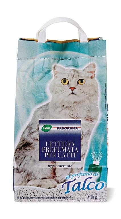 Lettiera per gatti pam pam offerte e promozioni for Migliore lettiera per gatti