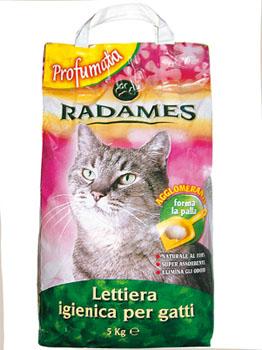 Lettiera per gatti radames radames offerte e for Migliore lettiera per gatti