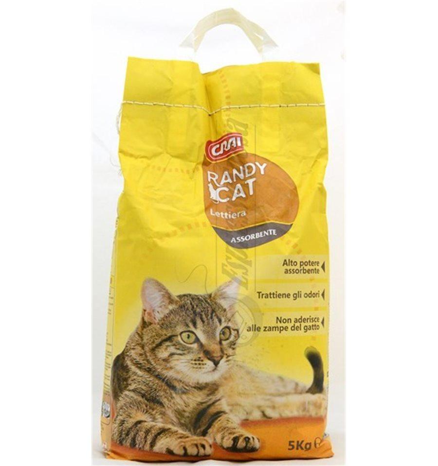 Lettiera per gatti randy cat crai crai offerte e for Migliore lettiera per gatti