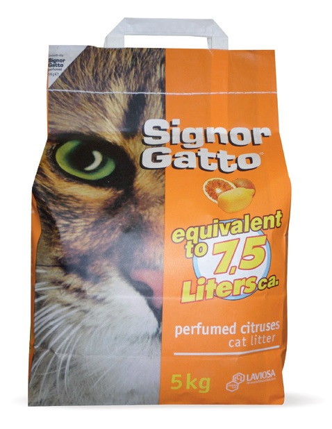 Lettiera per gatti signor gatto signor gatto offerte e for Migliore lettiera per gatti