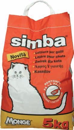 Lettiera per gatti simba simba offerte e promozioni for Migliore lettiera per gatti