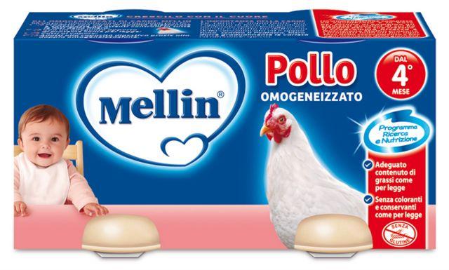 Omogeneizzati di carne Mellin