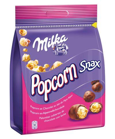 Snax Milka popcorn