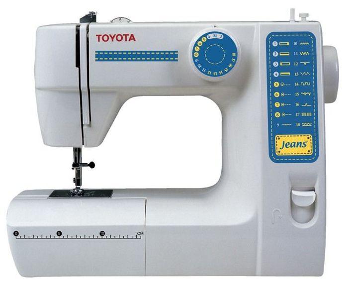 Macchina da cucire toyota jfs18 toyota offerte e for Migliore macchina da cucire
