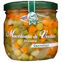 Macedonia di verdure lessate in vetro Carrefour