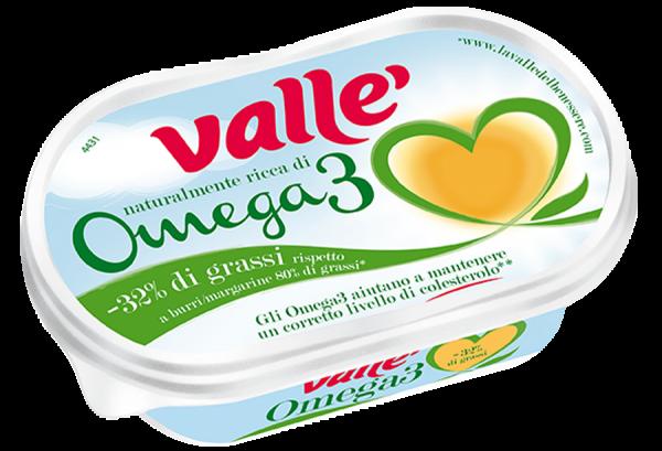 Margarina con omega 3 Vallè