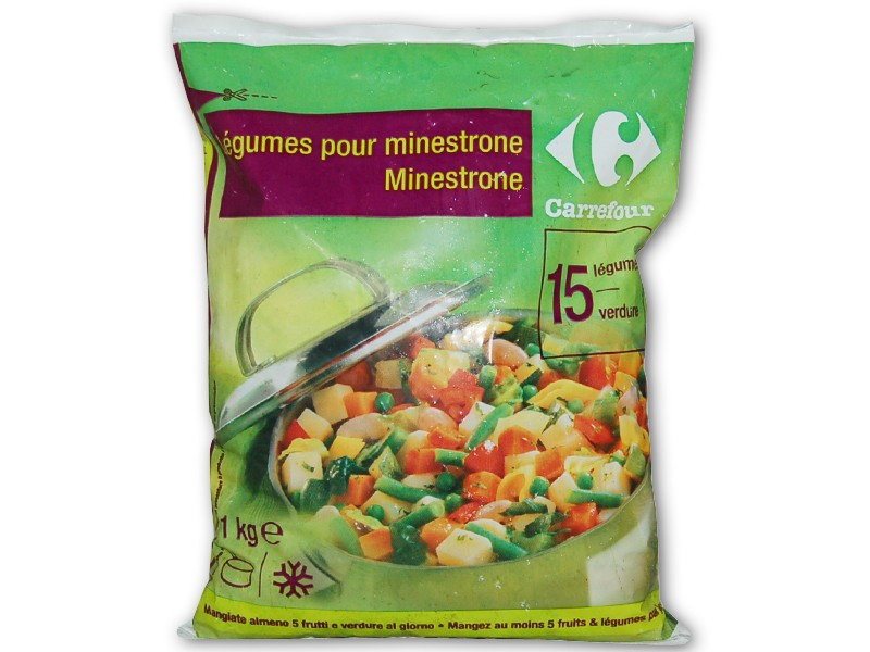 Minestrone Carrefour