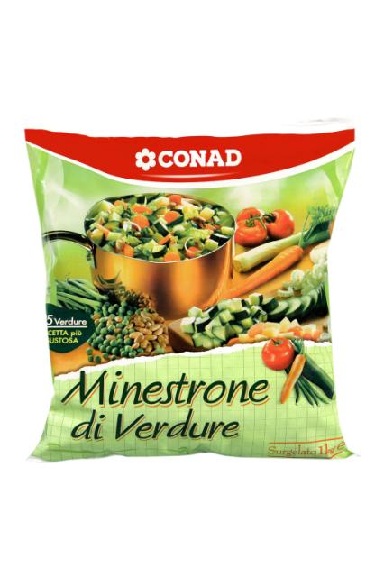 Minestrone di verdure Conad