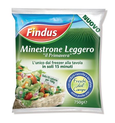 Minestrone leggero Findus