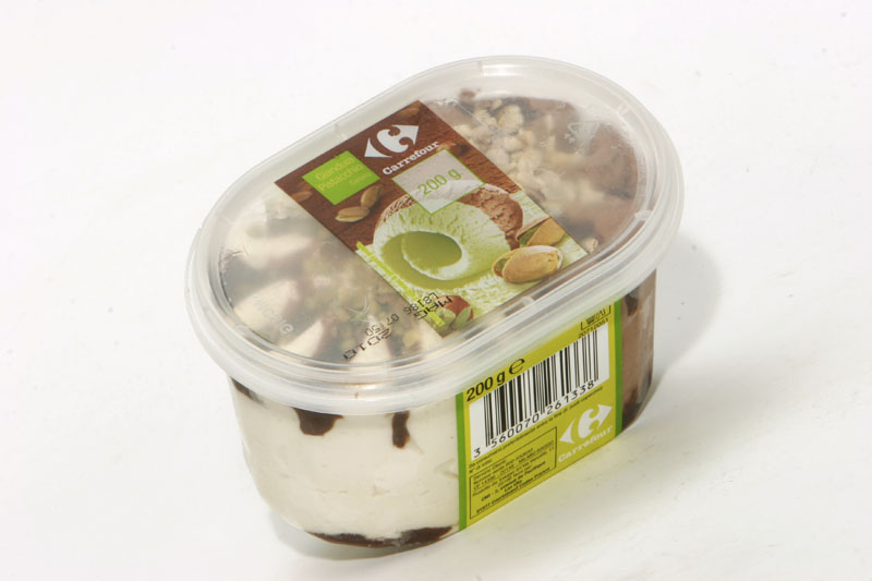Mini vaschetta di gelato Pistacchio e Cioccolato Carrefour